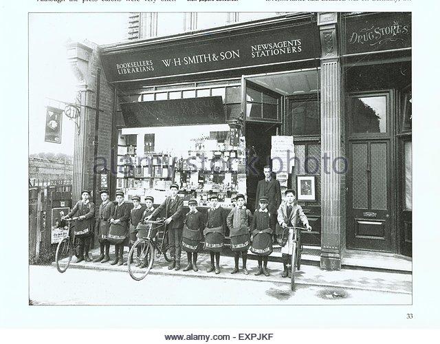 1900s-uk-w-h-smith-magazine-plate-expjkf